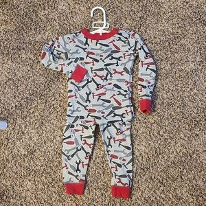 Carters Snug Fit Pajama Set Tools Size 18M